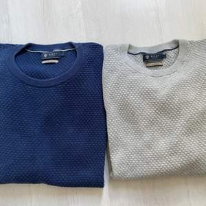 Grå&Blå tröja från Riley i fint skick! Storlek L passar M. Pris 175kr