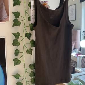 Säljer min bruna brandy Melville tank top! Köpte på öppningsdagen i Stockholm!!! Prislapp är fortfarande på! Buda gärna!