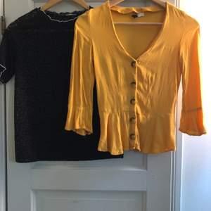 Två tröjor från zara och HM