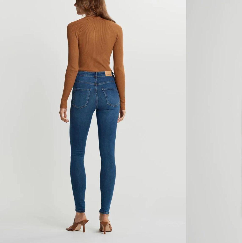 Molly jeans från gina tricot storlek S 💙 ord pris 300kr mitt pris endast 90kr 💙. Jeans & Byxor.
