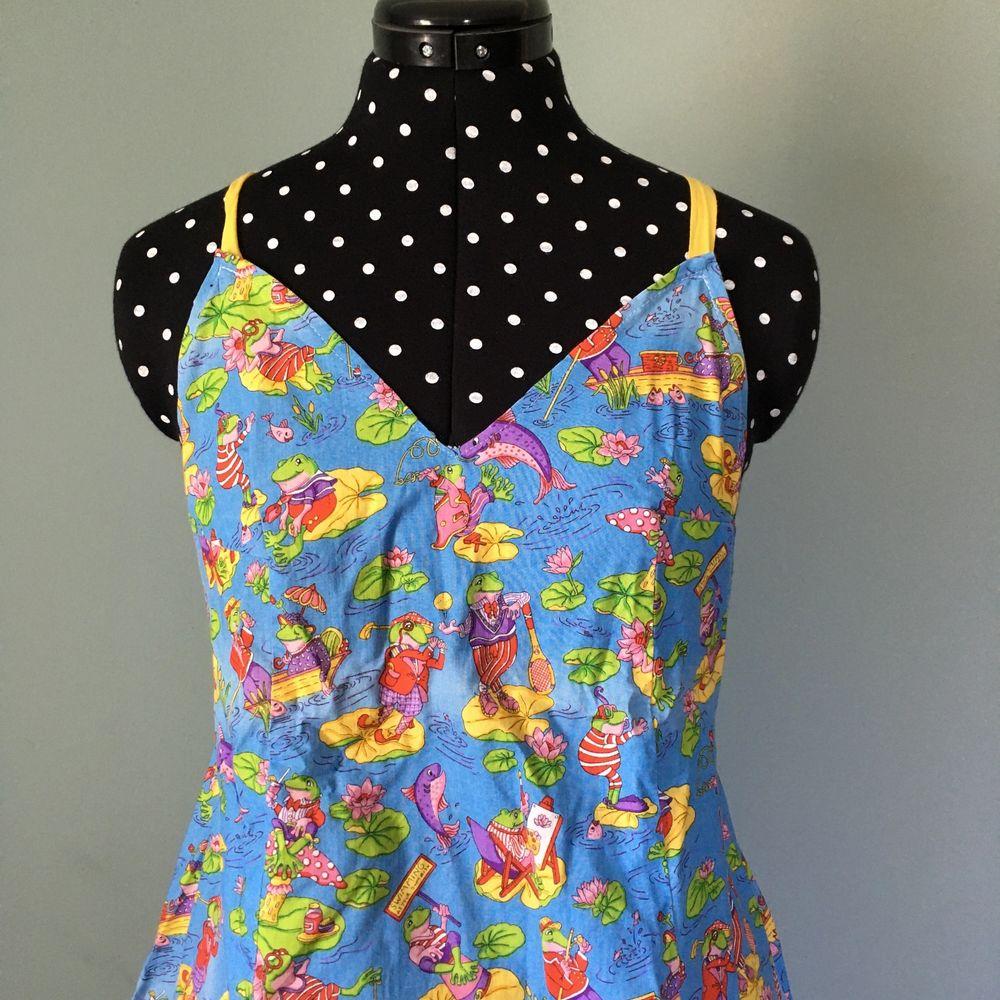 Mönstrad klänning, sytt själv, använd 3-4 gånger. . Klänningar.