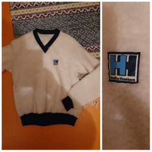 Retro helly hansen fiber päls tröja Size s