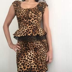 Tiger print dress, never used