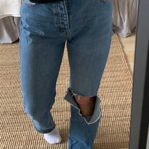 Jeans från pull&bear, tyvärr för stora för mig. Köpare står för frakt🤍