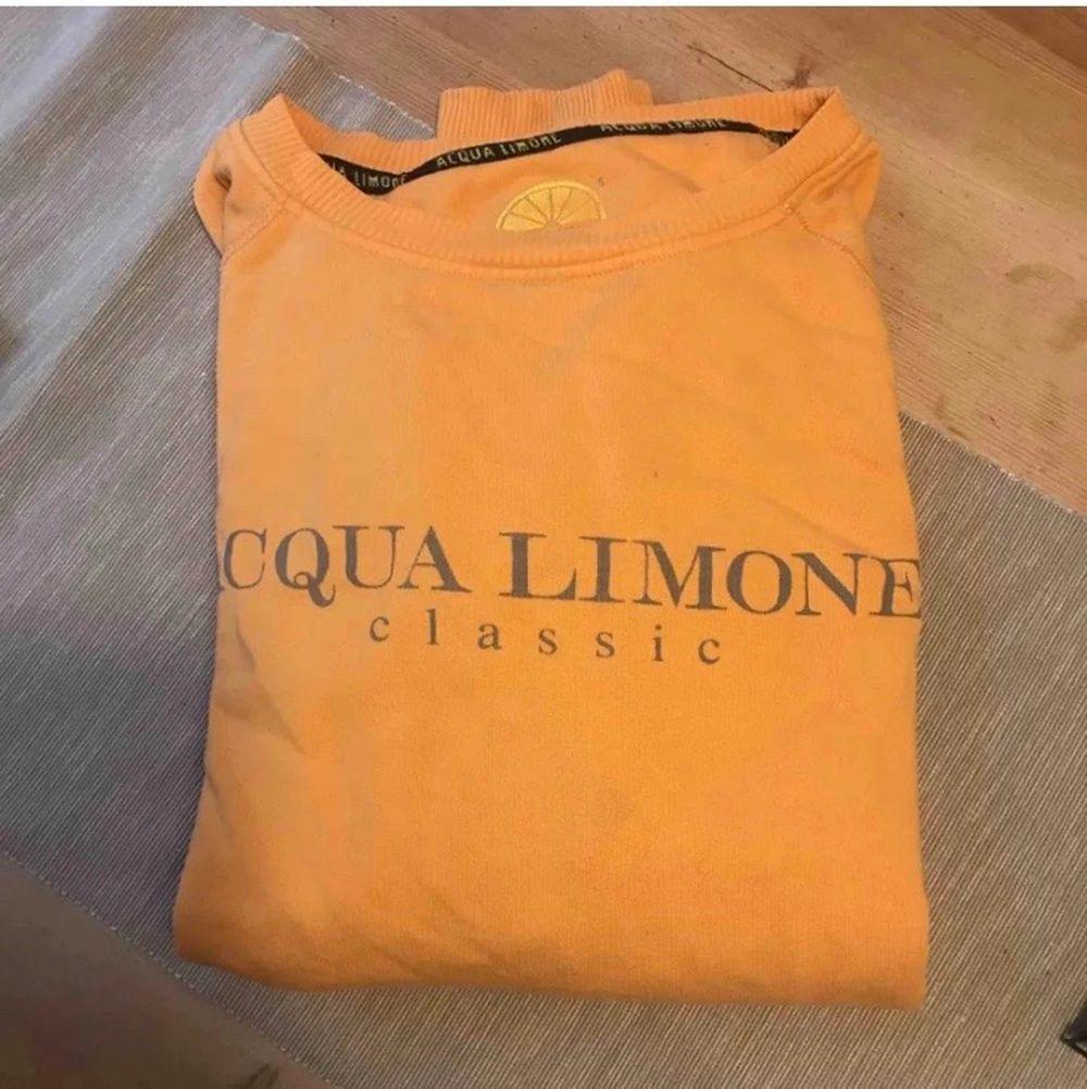 Super fin aqua limone tröja i fint skick! Inga skador eller fläckar. Väldigt fin färg och super fin och skön att ha på sig. Storlek S men passar även M! 400kr och frakten ingår i priset, pris kan diskuteras!🥰. Tröjor & Koftor.