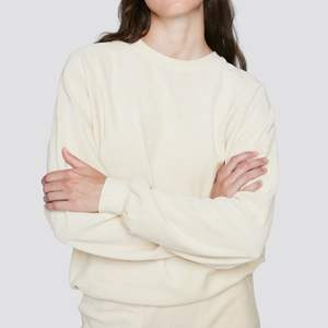 mysig offwhite sweatshirt från cubus. lite oversized