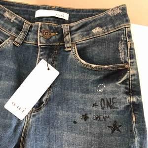 Helt nya asballa jeans från märket oui. Stretchiga och såååå sköna! Inköpta för 130€, dvs ca. 1300kr (därav priset)🥰