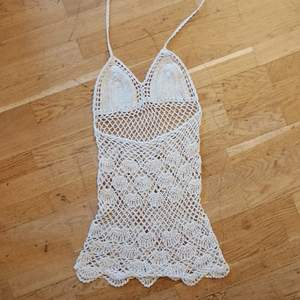 Super fin virkad klänning som inte kommit till användning. BUDA! 😘❤
