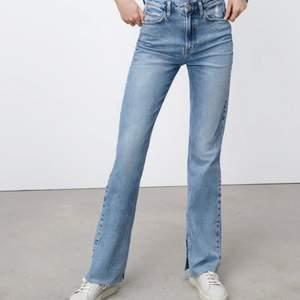 Säljer dessa snygga jeans från Zara på grund av att det är för stora. Endast använda 1 gång