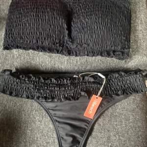 Bikini underdel från Nelly storlek S helt ny. Överdel frpn new yorker använd men ok skick. Storlek L. Jätte fint set ihop😍