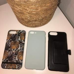 Säljer tre olika mobilskal till Iphone 6/7/8 plus🤗 Köp ett skal för 30kr eller alla tre för 80kr