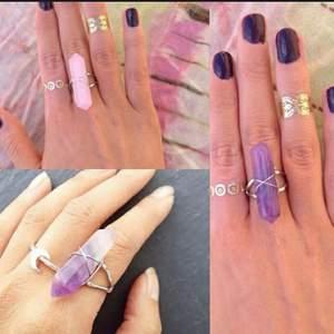 Denna annons är en intressekoll för att se om folk skulle vilja köpa liknande ringar som på bilderna. Skriv gärna en kommentar om ni skulle kunna tänka er att köpa. Skriv gärna även vilken färg ni gillar. Kommer eventuellt kunna fixa gröna och vita ringar. ❤️