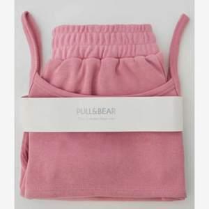 Superfint Set! Shorts och topp! Rosa färg och skönt material ❤️köptes för 299kr säljer för 80kr, köparen står för frakten