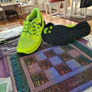 Löpar Nike skor