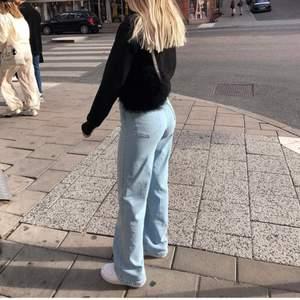 Säljer mina fina och nästan helt oanvända madlady jeans, kan både mötas eller frakta!