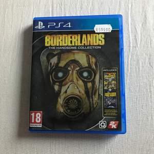Borderlands The Handsome Collection till PS4 i nyskick! Inga skador/repor. Är fler intresserade blir det budgivning.