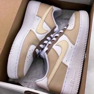 CUSTOM MADE AF1 CARAMEL X COFFE ONLY FOUR SIZE WILL BE MADE!!