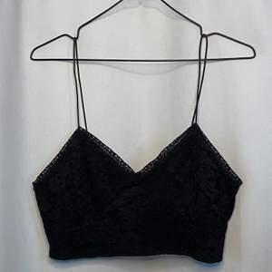 Snyggt svart linne från bikbok!
