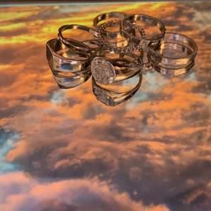 Fina ringar som inte kommer till användning 🌸💜💕