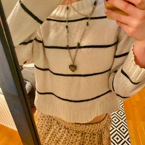 Jättefin randig tröja!!💖💖