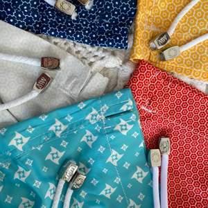 Säljer dessa superfina shorts direkt från Marwida swimwear, aldrig använda endast testade till bilderna så helt nya (bra kvalitet) om. I är intresserade av någon av de här finns de på mitt konto så kontakta vid intresse:) (alla är i storlek S) Unisex  säljer för 200 kr st;) finns så många detaljer så be gärna om fler bilder!!