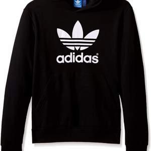 Säljer min svarta hoodie från adidas i storlek S. Sparsamt använd och i mycket fint skick!🤩 Säljer pågrund av att det inte riktigt är min stil. 160kr+frakt