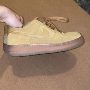 nike air force 1 suede, almost new. Size 38
