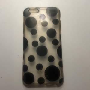 Fint prickigt/genomskinligt skal från Et av Day Birger. För IPhone 7! Lite gummi material, skyddar bra!
