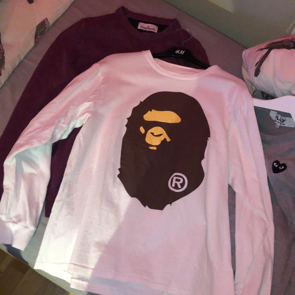 Passar som en size M. Köpt i Tokyo på bape shibuya. . T-shirts.
