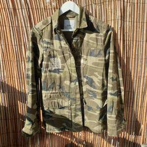 NEW military print jacket from Pull and Bear - size M