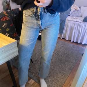 Snygga stentvättade jeans, säljer då jag har flera liknade! Frakt står köparen för!