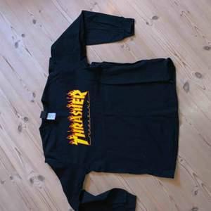 Långärmad Thrasher t-shirt i fint skick