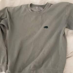 Fin mintgrön tröja från Brandy Melville med en liten Björn på. Sparsamt använd.