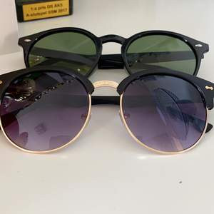 Stilrena solbrillor! Båda för 60 eller en för 40. Köpare står för frakt!