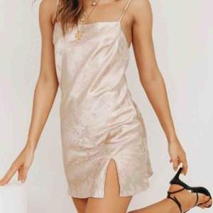 Satin mini dress from Australian brand Verge Girl Still new with tags due to it being too big for me
