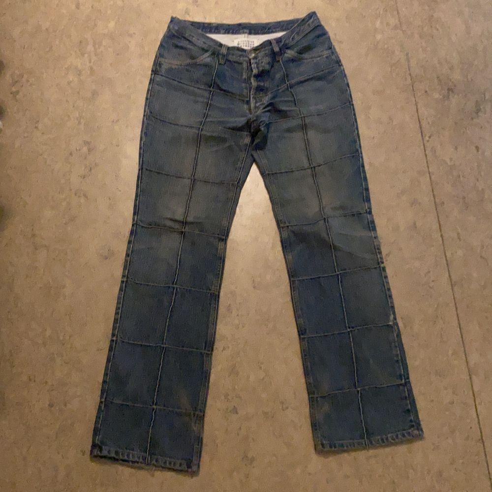 Extremt bra vintage kvalitet med lite sliten look. Pris kan definitivt diskuteras :). Jeans & Byxor.