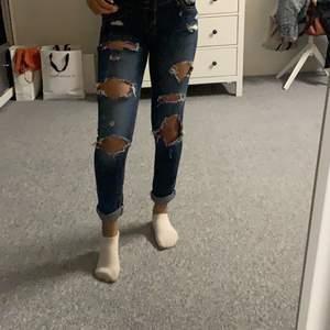 Jeans från hollister stl xs! Lågmidjade