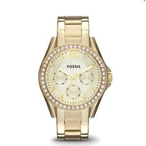 """Klocka från """"fossil"""". Använd fåtal gånger."""