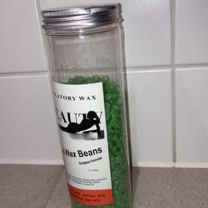 400 gram wax beans, använt en gång. Kan skickas