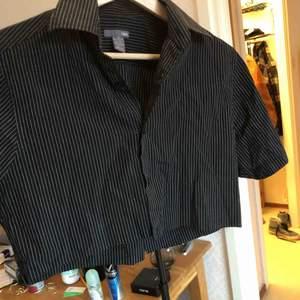 egenklippt skjorta från H&M