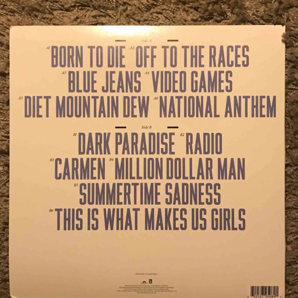 Lana Del Rey - Born to die vinyl. Möts upp i stockholm.. Övrigt.