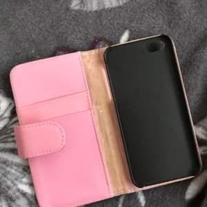 Ett plånboksskal till iPhone 5.Knappt använt.