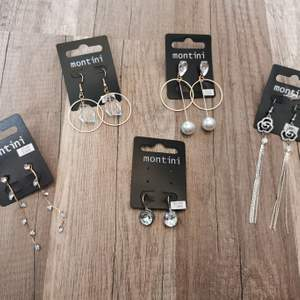 Helt nya örhängen. 20:-/st kan skickas 1-3 st örhängen på ett frimärke. Tar alltid 2 kr för emballage. Alla är Nickeltestade