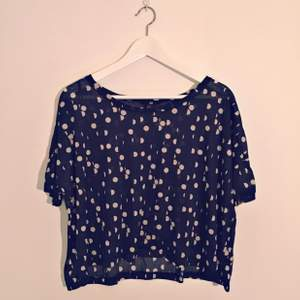 Polka dots top from H&M