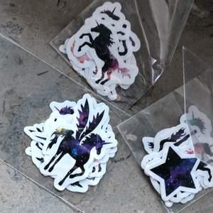 3 pack med klistermärken för 60kr inkl frakt!