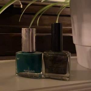 Säljer ett grönt och jätteglittrigt nagellack! Säljes för 30kr/st, frakt tillkommer ✨💕💖