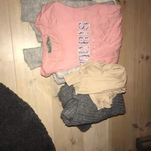 Har massor av tröjor som jag vill bli av med! Allt från t-shirts till stickade tröjor!  Priset kan diskuteras