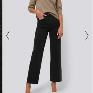 Ett par svarta jeans från AFJs kollektion med nakd. Använda fåtal gånger och i fint skick. Slutsålda på hemsidan!!