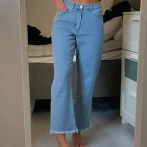 Blå jeans, oanvända men sjukt snygga