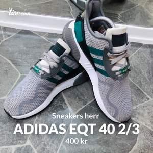 Adidas sko eqt  storlek 40 2/3  Använda ca 10gg Bra skick !  Köparen står för frakt 400 kr eller bud !